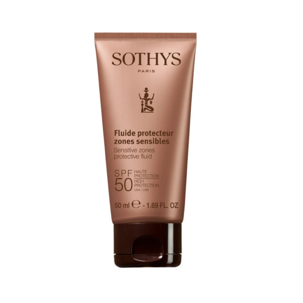 Sothys SPF50 Face and Sensitive zones protective fluid